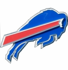 Buffalo Bills Logo Trailer Hitch Cover