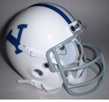 BYU Cougars 1978 Schutt Throwback Mini Helmet