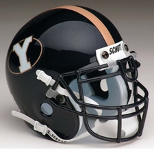 BYU Cougars 1999-2004 Schutt Throwback Mini Helmet