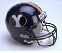 BYU Cougars 1999-2004 Throwback Riddell Full Size Authentic Helmet