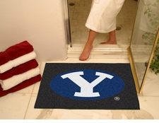"""BYU Cougars 34""""x45"""" All-Star Floor Mat"""