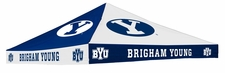BYU Cougars Blue / White Checkerboard Logo Tent Replacement Canopy