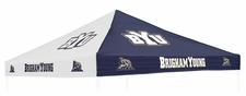 BYU Cougars Blue / White Logo Tent Replacement Canopy