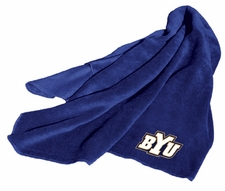 BYU Cougars Fleece Throw