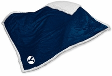 BYU Cougars Sherpa Throw Blanket