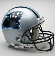 Carolina Panthers 1995-2011 Throwback Riddell Pro Line Helmet