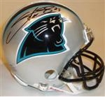 Carolina Panthers Autographed Football Gear