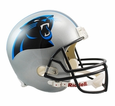 Carolina Panthers Full-Size Deluxe Replica Helmet