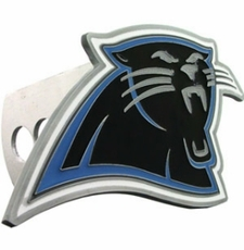 Carolina Panthers Logo Trailer Hitch Cover