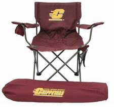 Central Michigan Chippewas Rivalry Adult Chair