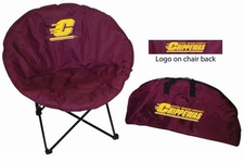 Central Michigan Chippewas Round Sphere Chair