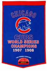Chicago Cubs 24x36 Wool Dynasty Banner