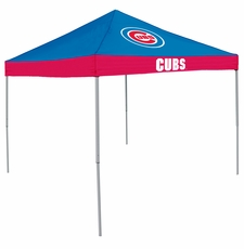 Chicago Cubs Economy 2-Logo Canopy Tailgate Tent