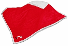 Cincinnati Bearcats Red Sherpa Throw Blanket