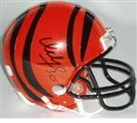 Cincinnati Bengals Autographed Football Gear