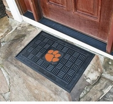 Clemson Tigers 19x30 Medallion Door Mat