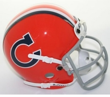 Clemson Tigers 1966 Schutt Throwback Mini Helmet