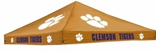 Clemson Tigers Orange Logo Tent Replacement Canopy