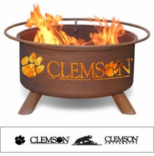 Clemson Tigers Outdoor Fire Pit