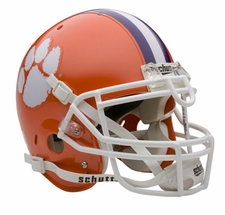 Clemson Tigers Schutt Authentic Full Size Helmet