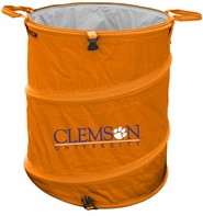Clemson Tigers Tailgate Trash Can / Cooler / Laundry Hamper