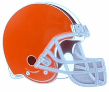 Cleveland Browns Logo Trailer Hitch Cover