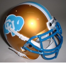 Colorado Buffaloes 1982 Schutt Throwback Mini Helmet