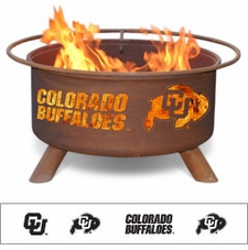 Colorado Buffaloes Outdoor Fire Pit