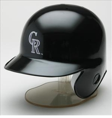 Colorado Rockies Riddell Mini Baseball Batting Helmet