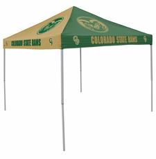 Colorado State Rams Green / Gold Logo Canopy Tailgate Tent
