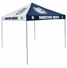 Connecticut Huskies Navy / White Logo Canopy Tailgate Tent