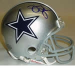Dallas Cowboys Autographed Football Gear