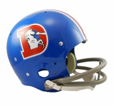 Denver Broncos Classic TK 1968-96 Throwback Riddell Replica Helmet