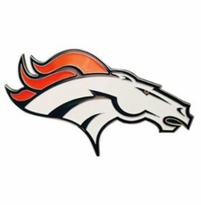 Denver Broncos Logo Trailer Hitch Cover