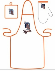Detroit Tigers Cooking / Grilling Apron Set