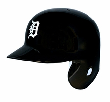 Detroit Tigers Left Flap Rawlings Authentic Batting Helmet
