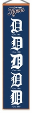 Detroit Tigers Wool 8x32 Heritage Banner