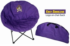 East Carolina Pirates Round Sphere Chair