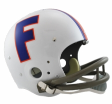 Florida Gators 1966 Riddell NCAA TK 2-Bar Suspension Throwback Full Size Helmet(No Longer Made)