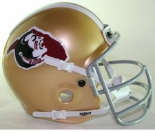 Florida State Seminoles 1975 Seminole Head Schutt Throwback Mini Helmet