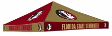 Florida State Seminoles Garnet / Gold Checkerboard Logo Tent Replacement Canopy