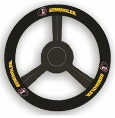 Florida State Seminoles Leather Steering Wheel Cover