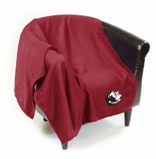 Florida State Seminoles Sweatshirt Throw Blanket