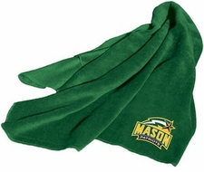 George Mason Patriots Fleece Throw