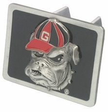 "Georgia Bulldogs ""Bulldog"" Trailer Hitch Cover"