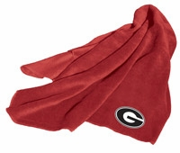 Georgia Bulldogs Fleece Throw