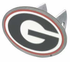 "Georgia Bulldogs ""G"" Trailer Hitch Cover"