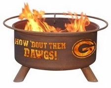 Georgia Bulldogs Outdoor Fire Pit