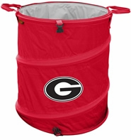 Georgia Bulldogs Tailgate Trash Can / Cooler / Laundry Hamper
