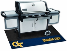 Georgia Tech Yellow Jackets 26x42 Grill Mat